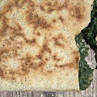 Crescione alla farina di canapa con rosole delle colline di Longiano. La nostra specialità!
