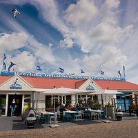 Viswinkel De Texelse Visspecialist in Oudeschild is het hele seizoen 7 dagen p/wk geopend