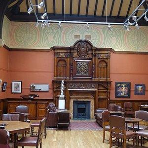 Art exhibition in Long Room (Gallery)