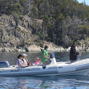 Pesca en familia !