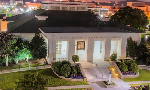 The Huntsville Museum of Art is located in Downtown Huntsville's Big Spring Park