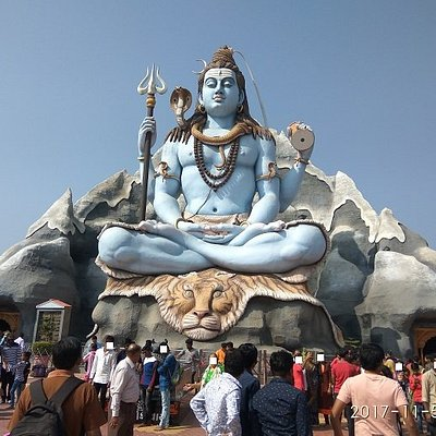 Lord Shiva Idol the Main Attraction
