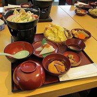 普普通通的日式定食
