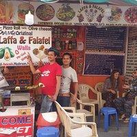 Ganga Laffa & Falafel Restaurant In Pushkar