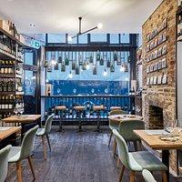 upstairs bar/shop/restaurant