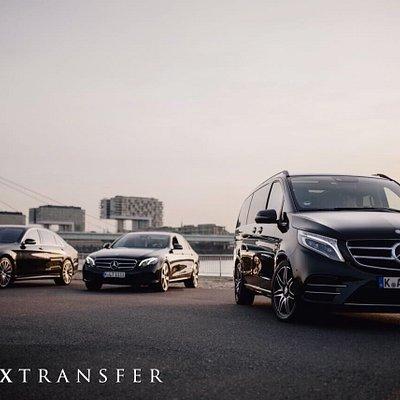 Unsere Mercedes-Benz Flotte, Mercedes S, E & V-Klasse