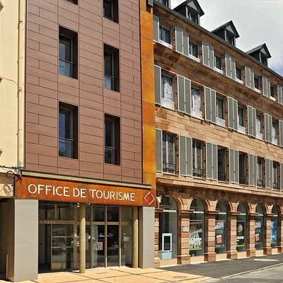 Office de Tourisme, place de la cité