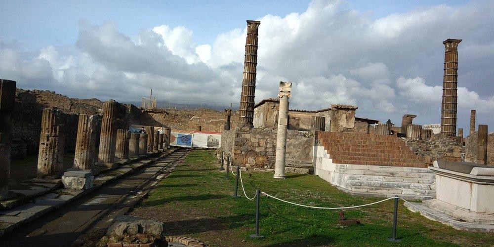 Vista de las ruinas