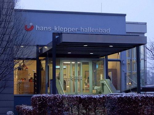 Rosenheimer Hallenbad Eingangsbereich