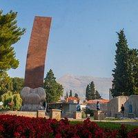 1991 - 1995 War Memorial, Trebinje (built in memory of the defenders of Trebinje)