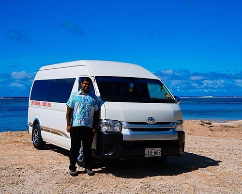 bula make your booking with our brand new toyota hiace mini van