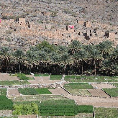 salendo al Jebel Shams