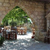 Sabuneri magnificent courtyard
