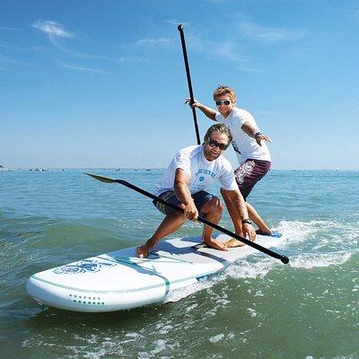 Ecole de stand up paddle Wave school La Tranche sur mer