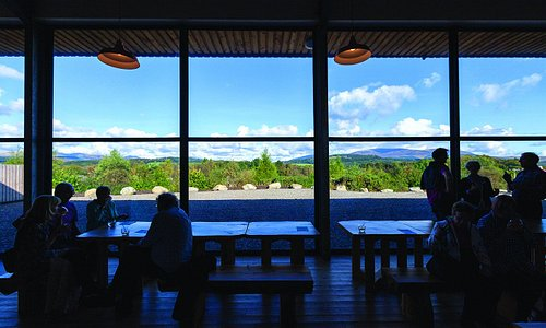 View to the Galloway Hills from the visitor centre