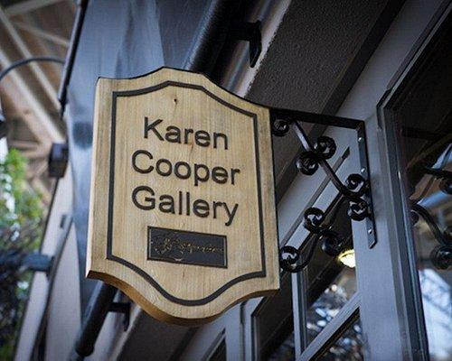 Karen Cooper Gallery Sign