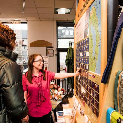 Friendly knowledgeable staff can help you make the most of your visit