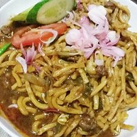 Mie Aceh Daging Tumis