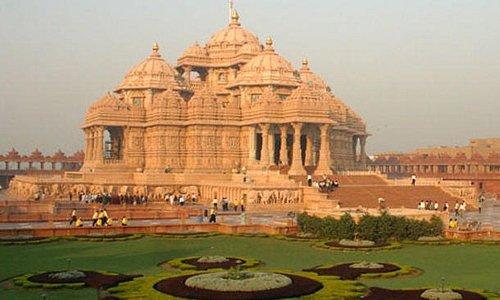 Akshardham Temple:- Дели. Посещение храма Акшардхам