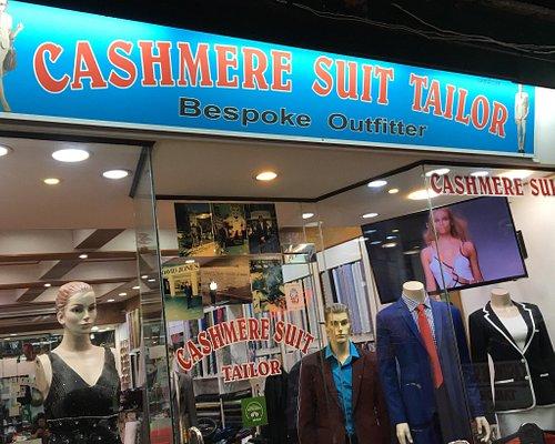Cashmere suit store