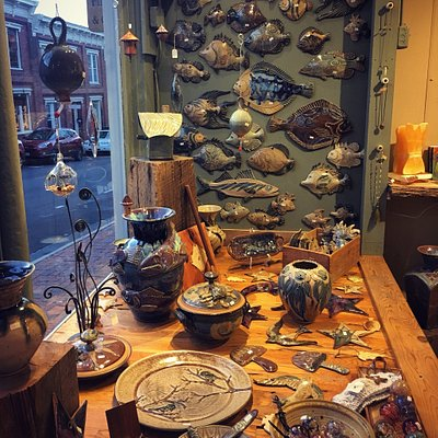 Gorgeous pottery and much more!