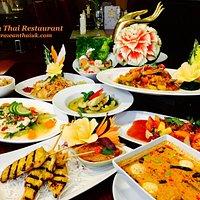 Erawan Thai restaurant variety selection menu