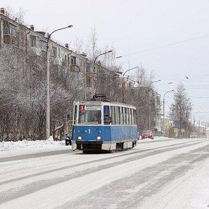 Вагон №1 на улице Попова