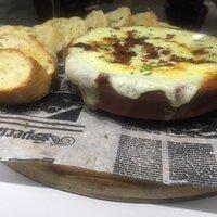 Sabroso queso fundido español!!!