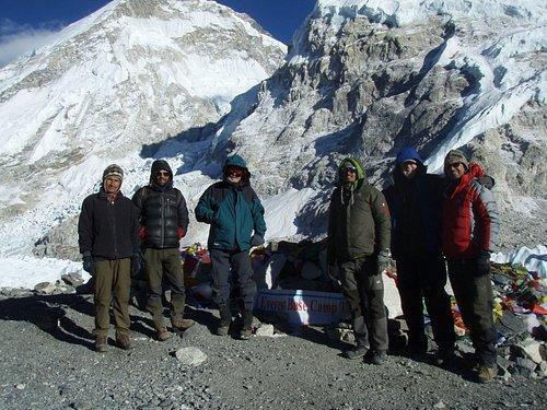Everest Base Camp - Jan. 24th, 2018