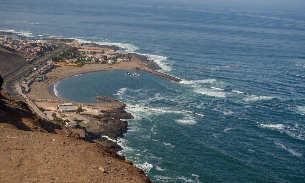 wild Pacific coast