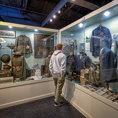 Webb Military Museum featured artifacts from the Civil War to the Cold War period.