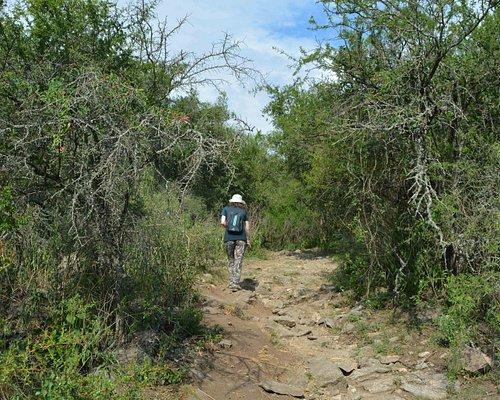 Reserva Natural La Cascada. Inicio del recorrdio.