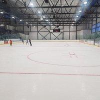 Empty ice rink