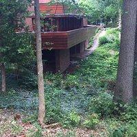 Frank Lloyd Wright designed home for Gregor S. and Elizabeth B. Affleck - Bloomfield Hills, MI