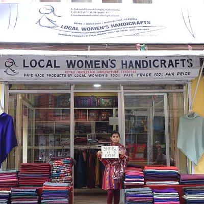 New LWH Shop at Paknajol Chock, Thamel, Kathmandu.