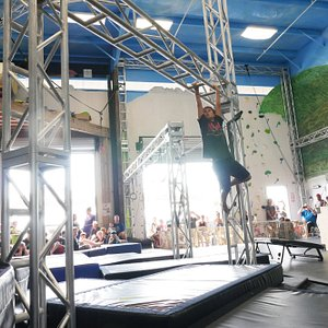 Obstacle challenge at Hawaii Action Academy