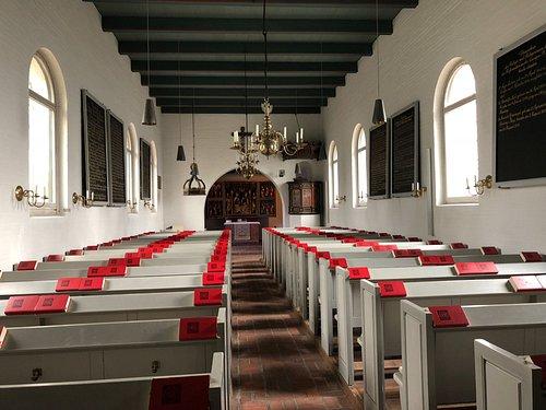 St. Niels, Westerland - Innenraum