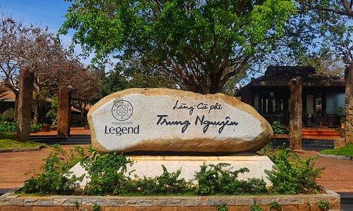 Trung Nguyen Village Coffee Board