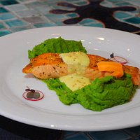 Salmon in Provance herbs