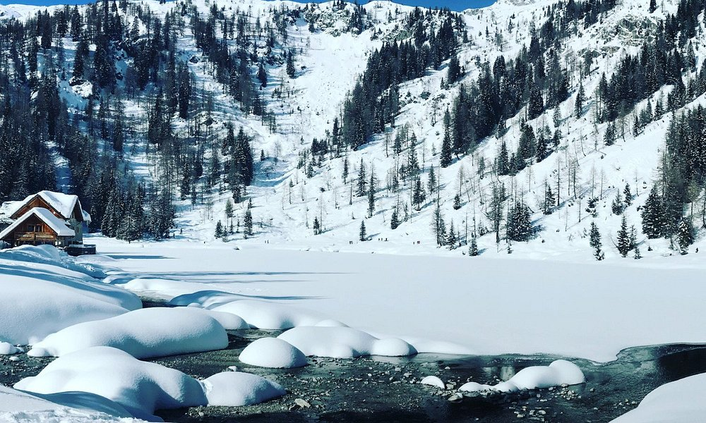vista panoramica lago