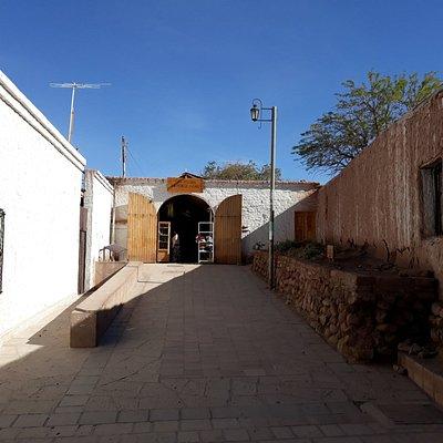 Vista da entrada da Feira.