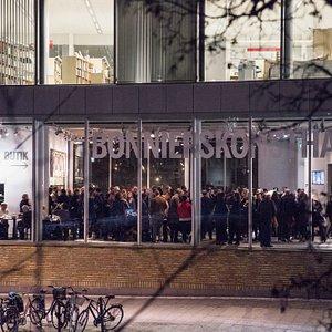 Opening night. Jens Fänge, Drömmarna (The Dreams). Feb 7 - Apr 1, 2018. Photo: Beata Cervin
