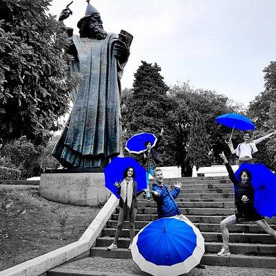 why so blue? :)
