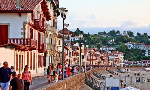 Maisons face à la plage - Pays de Saint-Jean-de-Luz - Terre et côte basques