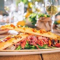 Geniet van heerlijk Italiaanse Lunchsgerechten