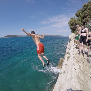 Today is a cliff jumping day