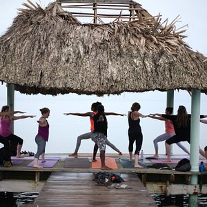 Yoga on the Pier in PG with Indira from CocoLove