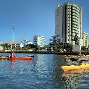 Cartagena desde el mar una mirada diferente... vamos a remar por Cartagena Histórica
