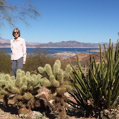 A view from the Lake Mead Recreation Visitor Center