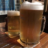 Medium and Large sized beer